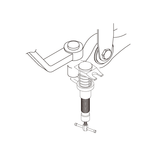 Hydraulic Ball-Joint Puller