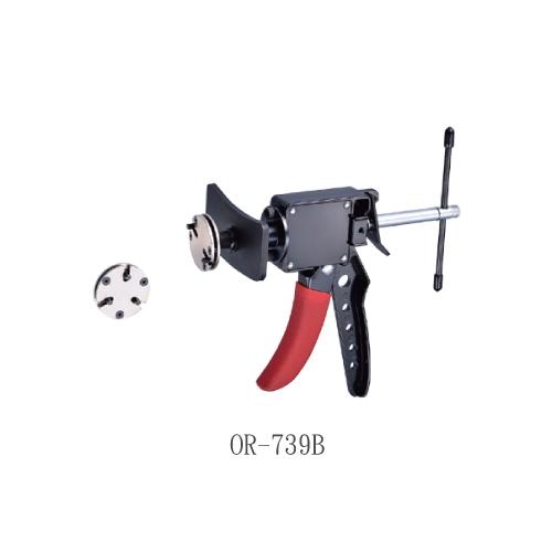 Flexible Hose Clamp 2&3 Pin Brake Piston Rewind Back Tool Set. Brake Pedal & Throttle Pedal Depressor-4